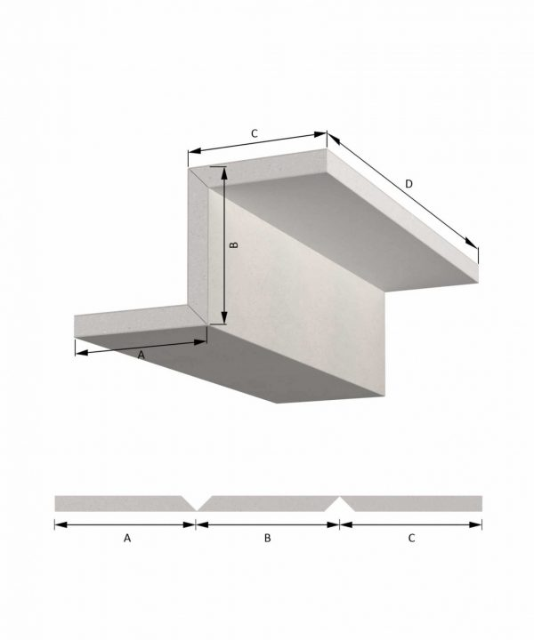 Shadow Gap Detail | Ceiling Cladding Trim